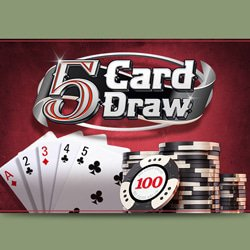 Règles du poker 5 Card Draw